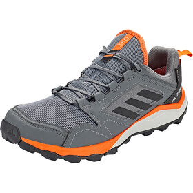 adidas TERREX Agravic TR Gore-Tex Trail Running Schuhe Herren grey four/core black/orange